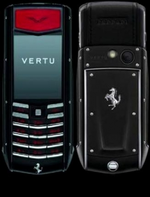 Vertu Ascent Ti Ferrari Nero Limited Editions