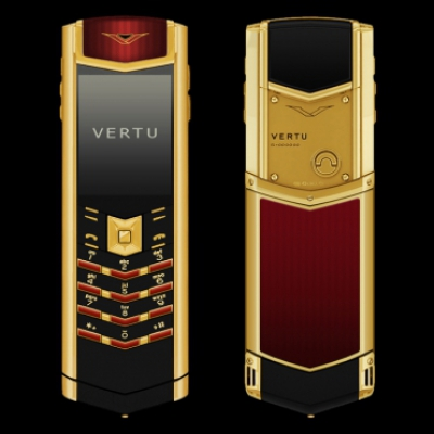 Vertu Signature S-Design Emperor Red Enamel