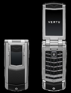Vertu Ayxta Polished Black
