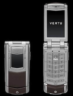 Vertu Ayxta Satin Brown