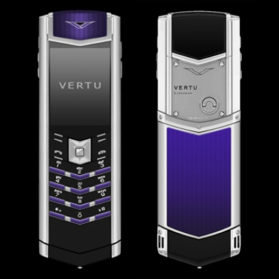Vertu Signature S-Design Royal Blue Enamel