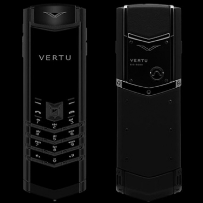 Vertu Signature S Design Pure Black