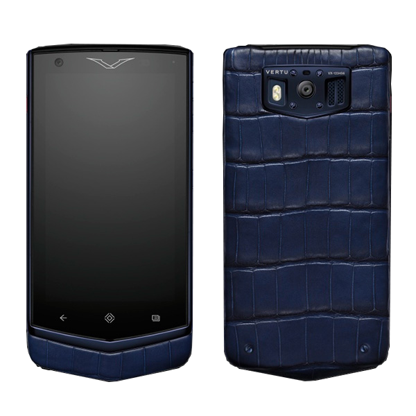 Vertu Constellation V Pure Navy Alligator